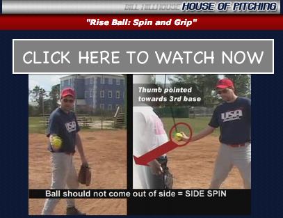 How to grip a riseball video with Bill Hillhouse