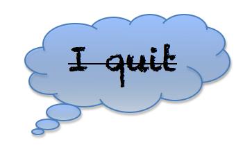 softball success tips: never quit