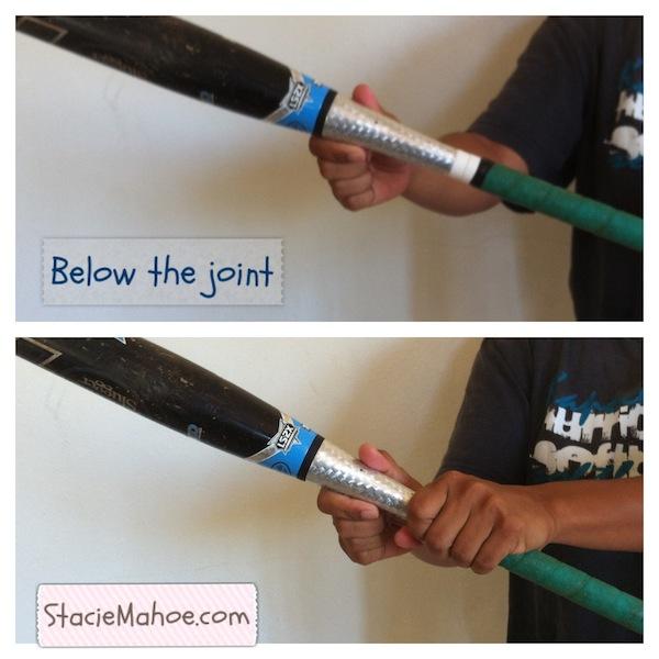 xeno softball bat below the joint