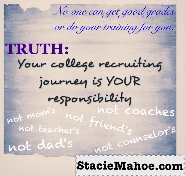 softball college recruiting truth