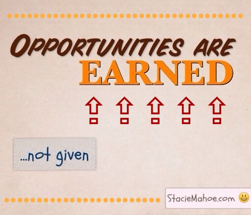Softball Success Tips: Opportunities Are Earned