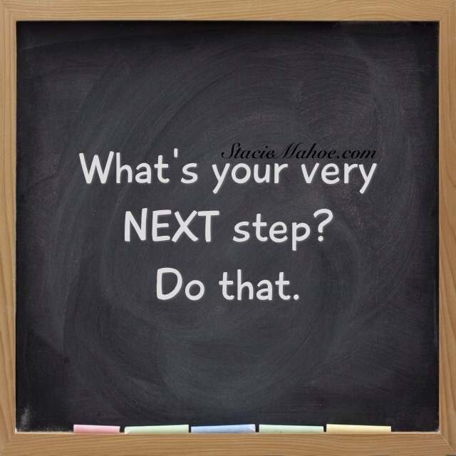 What's your NEXT step? Softball coaching tip