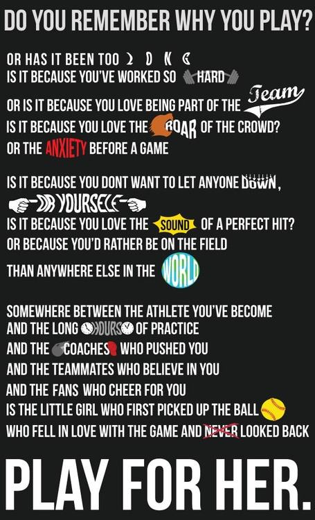 Fastpitch Tips - Remember Why You Play