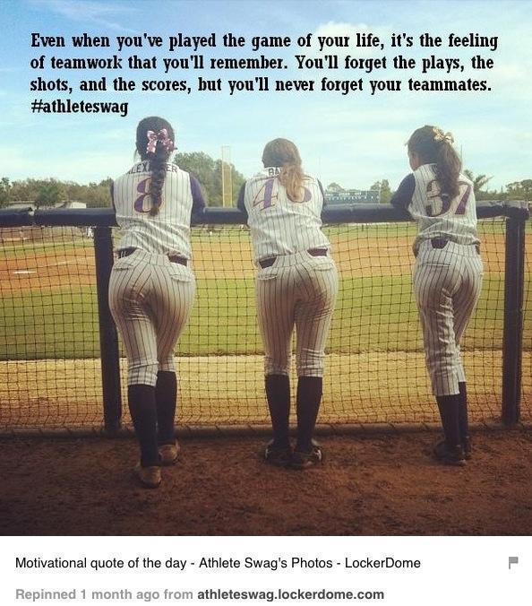 fastpitch softball teamwork