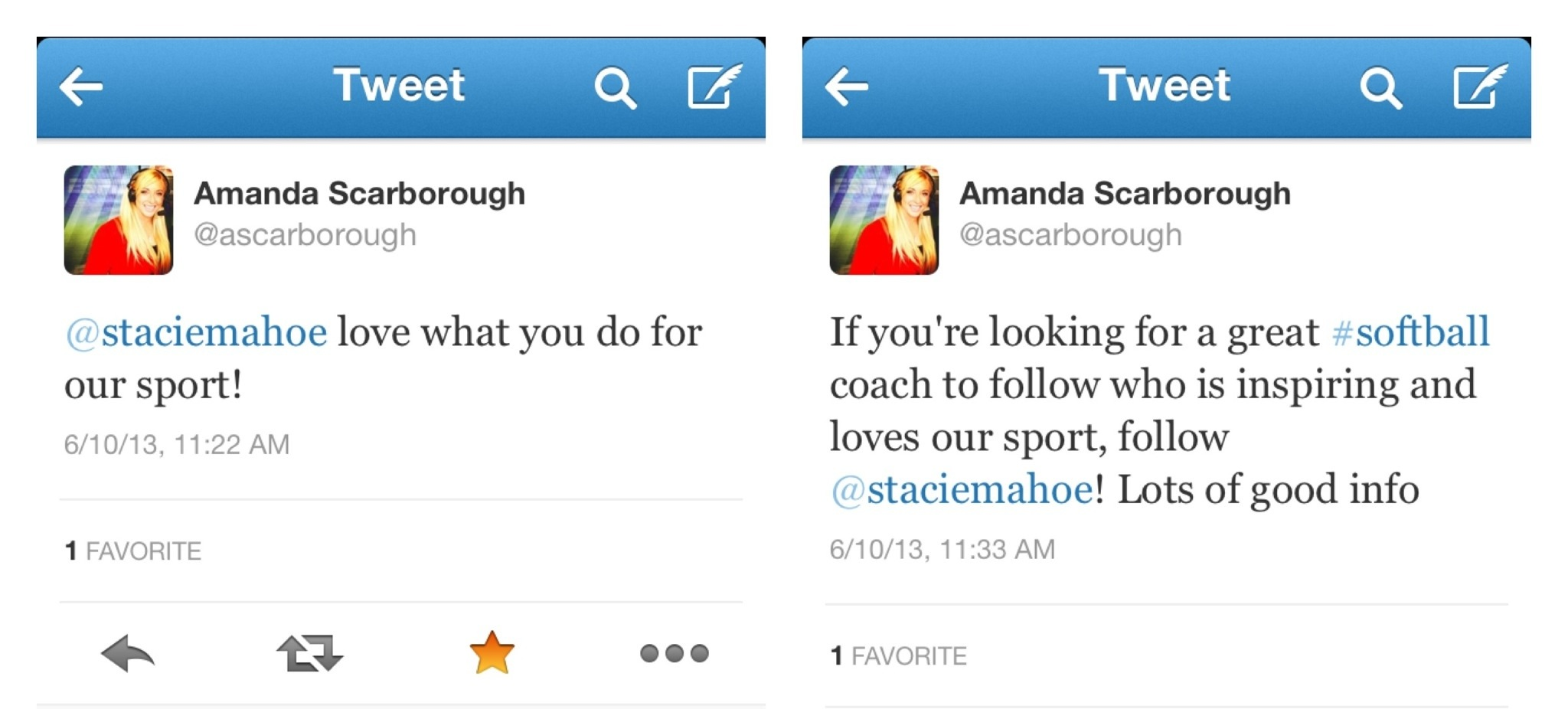 Amanda Scarborough testimonial