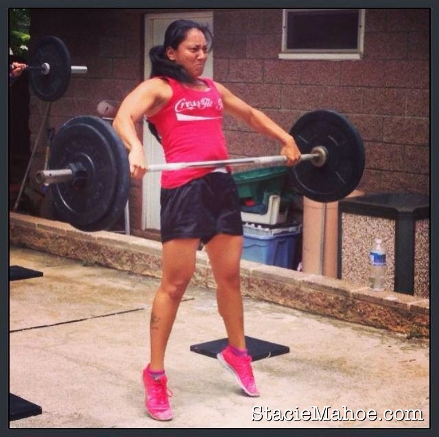 stacie mahoe training