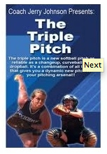 triple pitch dvd by Jerry Johnson
