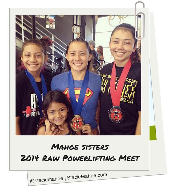 Mahoe sisters Powerlifting