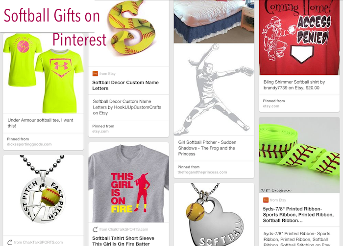Great softball gifts on pinterest