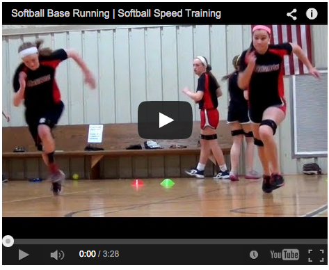 Fastpitch Softball Video: Speed Tips for Baserunning