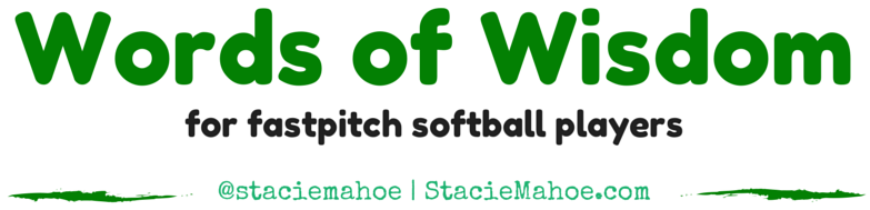 inspirational quotes for fastpitch softball players