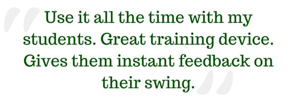 Zepp Testimonial: great training device