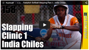 fastpitch slapping tips video with India Chiles