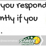 unconventional sports mom tip: would you respond differently?