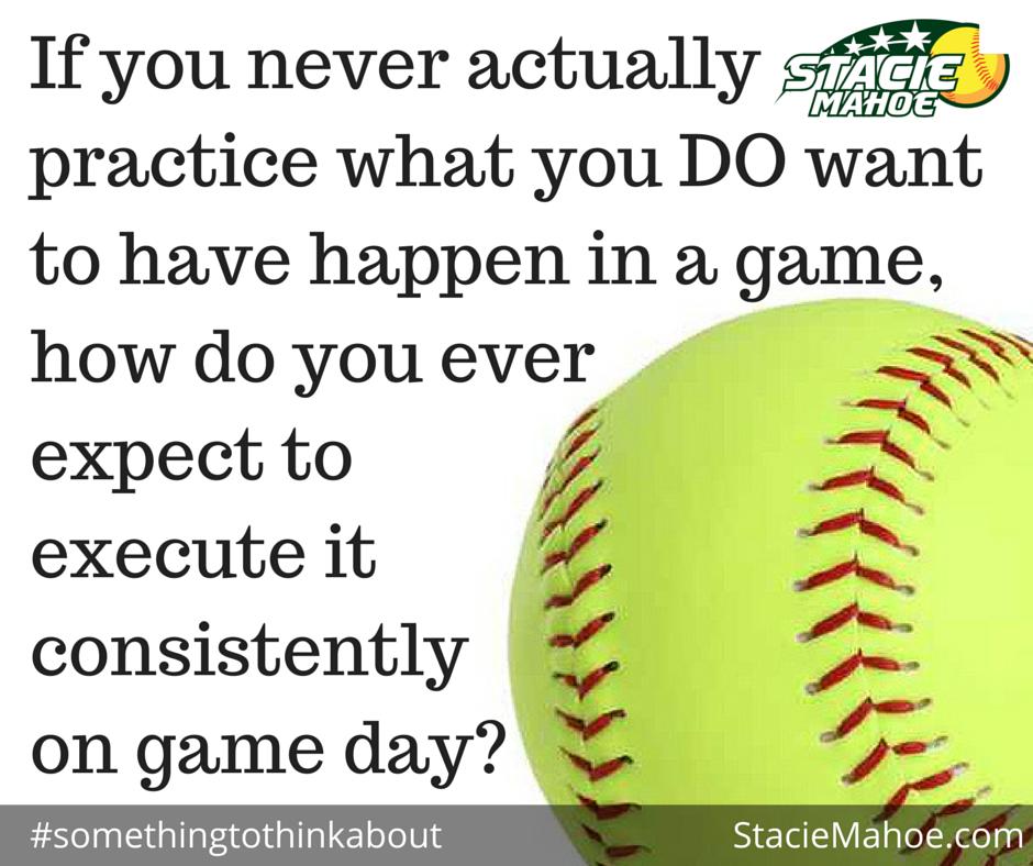 softball training: super simple softball hitting trick
