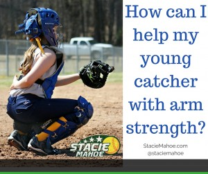 young catcher arm strength tips