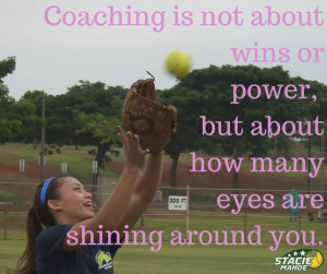 coaching tips: how many eyes are shining around you?