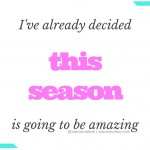 decide to success this season