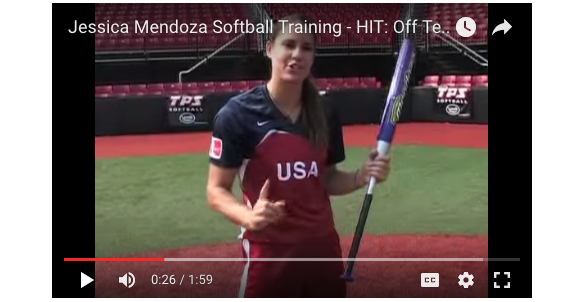 Softball Hitting Tips: Jessica Mendoza Covers Important Tee Basics