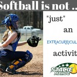 Softball is not ...