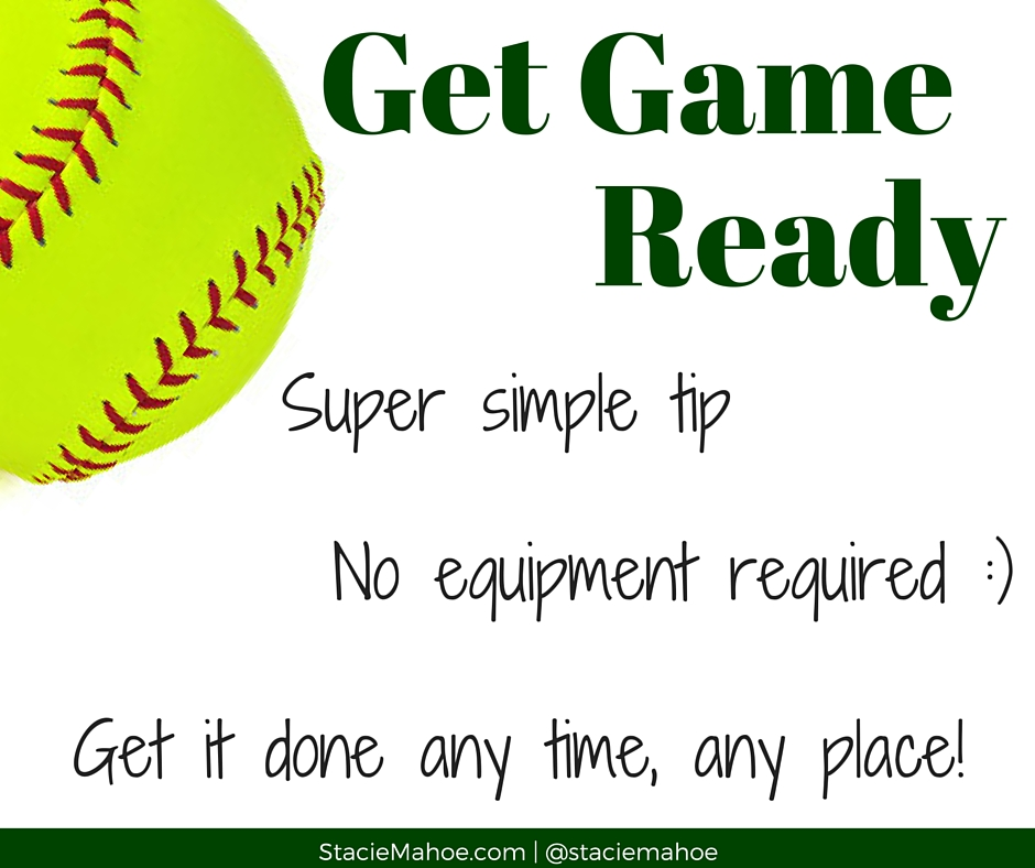 get game ready with this simple tip