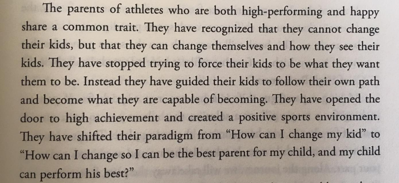 sports parenting tips