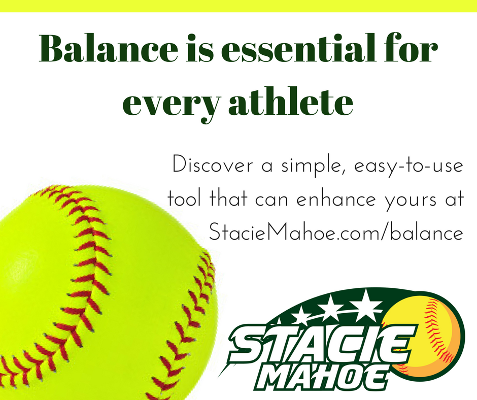every athlete needs balance
