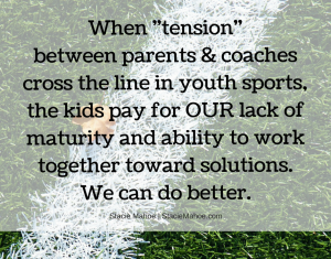 youth sports problems and perspectives
