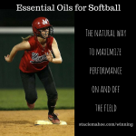 essential oils for athletes and softball