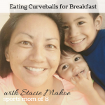 Eating Curveballs for Breakfast Podcast - with Stacie Mahoe