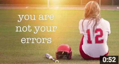 Video: 52 seconds of encouragement – you are not your errors