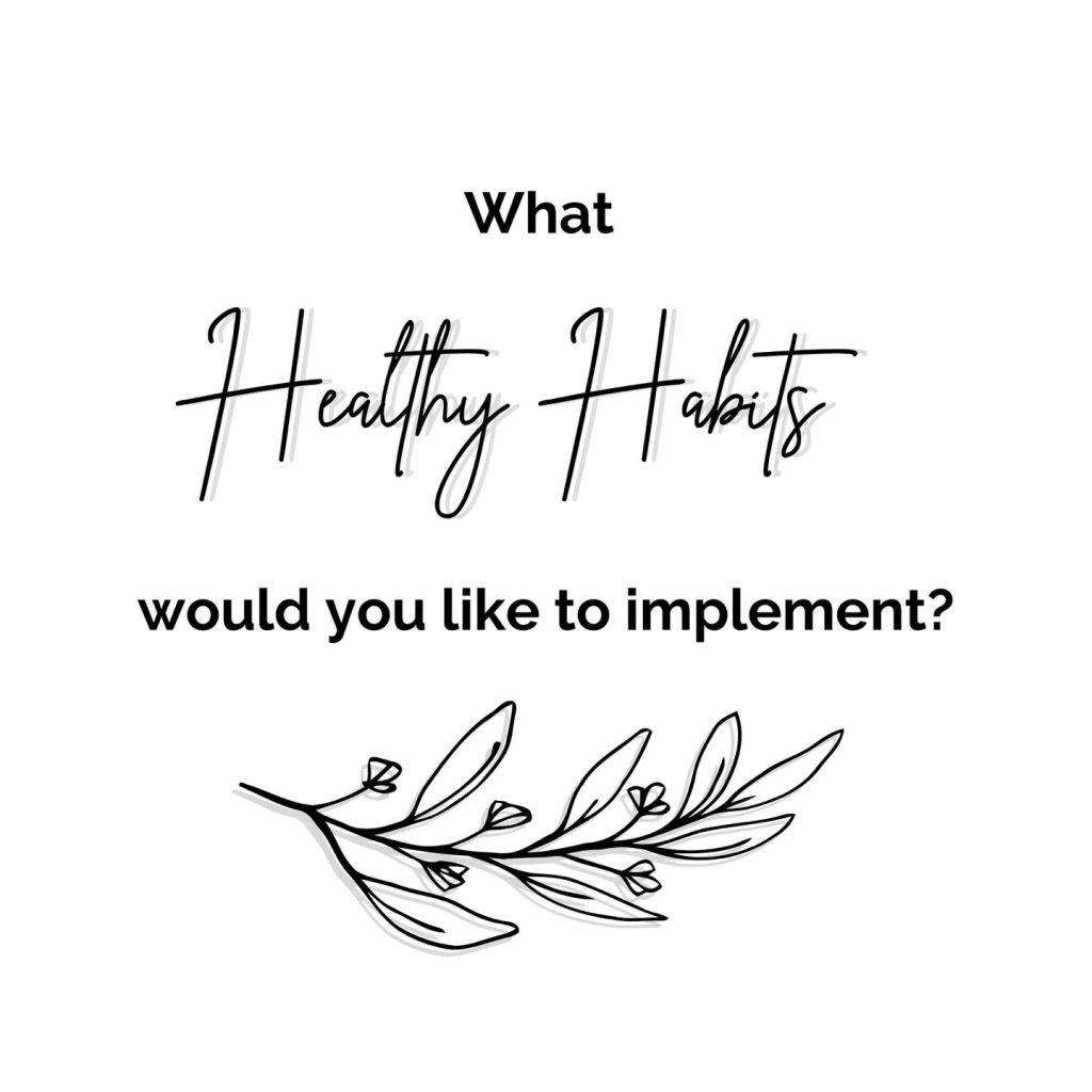 consistency, excellence, healthy habits