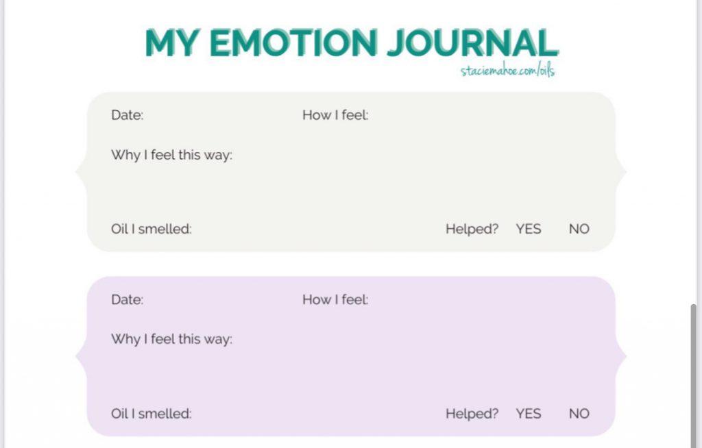 free emotions journal for Keiki